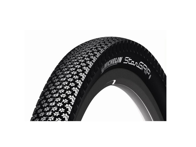 Michelin Star Grip copertone 28 x 1.6 filo metallico nero
